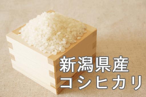 【第一位】新潟県魚沼産「コシヒカリ」